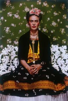 Nickolas Muray - Frida Kahlo on Bench